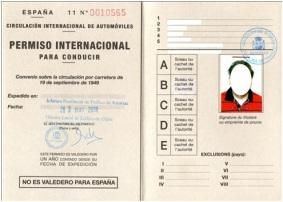 Mi rincon au pair, permiso internacional de conduir